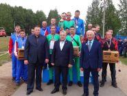Команда отряда ГПС № 21 на областных соревнованиях заняла I место