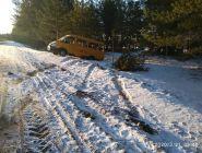 В Котласком районе установлены подозреваемые в угоне школьного микроавтобуса