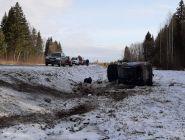 На автодороге в Котласском районе с промежутком в 5 минут произошло два ДТП. Погибла молодая женщина