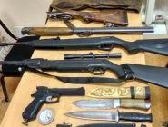 Во время операции «Охота» изъято более 120 единиц оружия