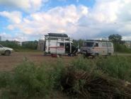 Котласские спасатели провели учения на воде