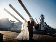 Накануне Дня Военно-Морского Флота в Архангельской области заключили брак несколько десятков пар