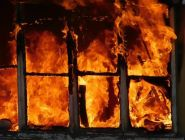 Пожар в Котласском районе: без жилья остались 9 человек