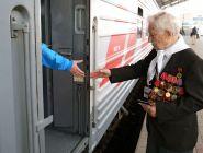 Участников и инвалидов ВОВ весь май на поездах будут возить бесплатно