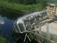 За разрушение моста ответит владелец грузовика