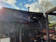 Сотрудники МЧС России не допустили распространения огня на дачные дома