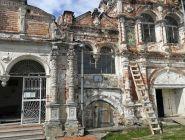 В Сольвычегодске реставраторы завершили воссоздание интерьеров Свято-Введенского храма.